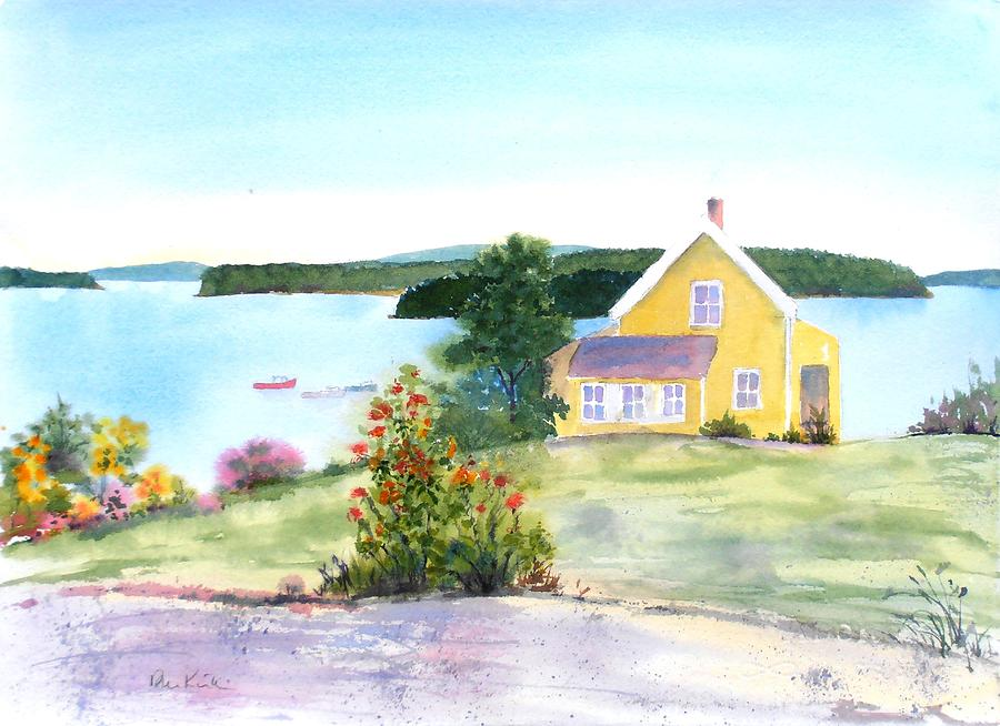 The Yellow House by Diane Kirk