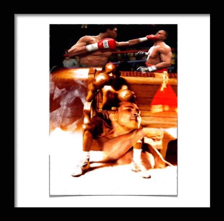 The Young Champ Pyrography by JP Wright