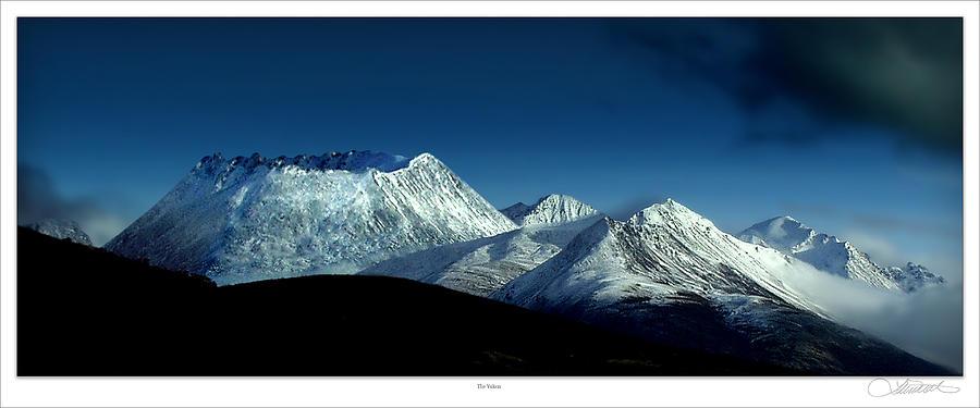 Volcanos Photograph - The Yukon by Lar Matre