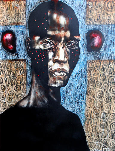Religion Mixed Media - The Zelot by Chester Elmore