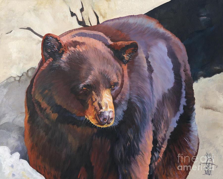 The zen of being Bear by J W Baker