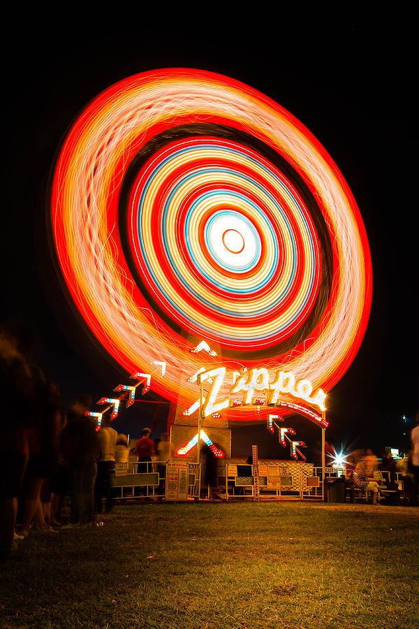Fair Photograph - The Zipper by Bryan Moore