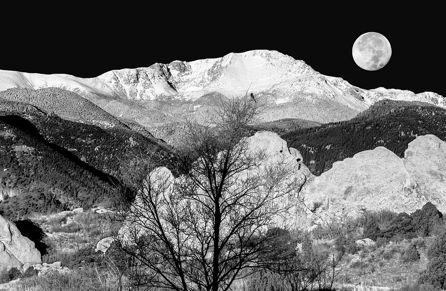 Pikes peak photograph the zone system by bijan pirnia