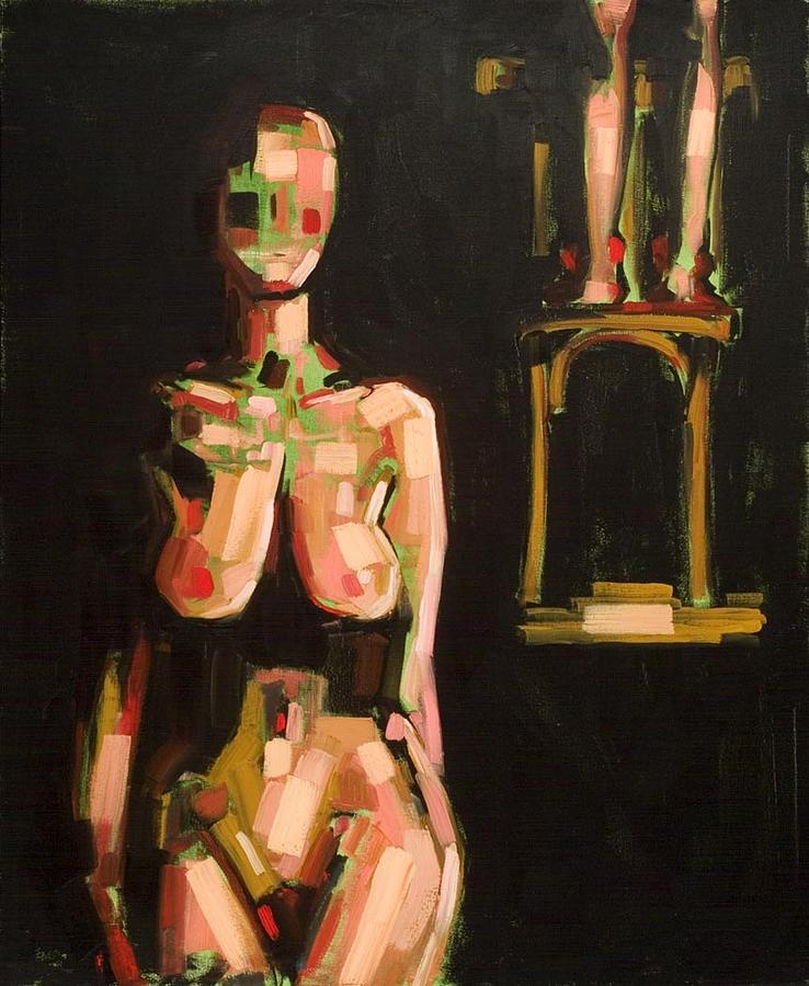 Figurative Painting - Theater by Kim Logan