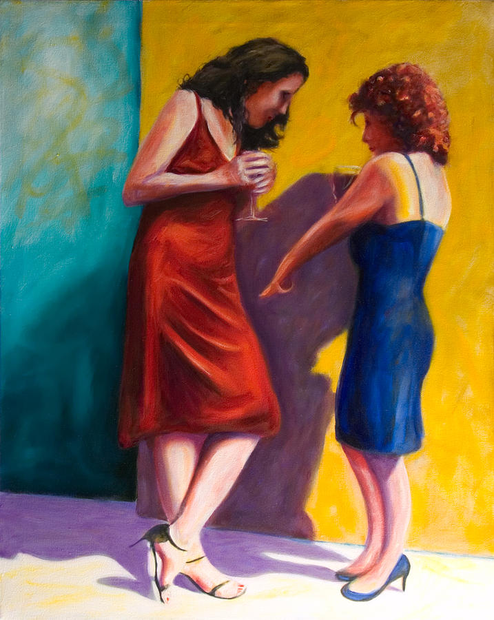 Figurative Painting - There by Shannon Grissom