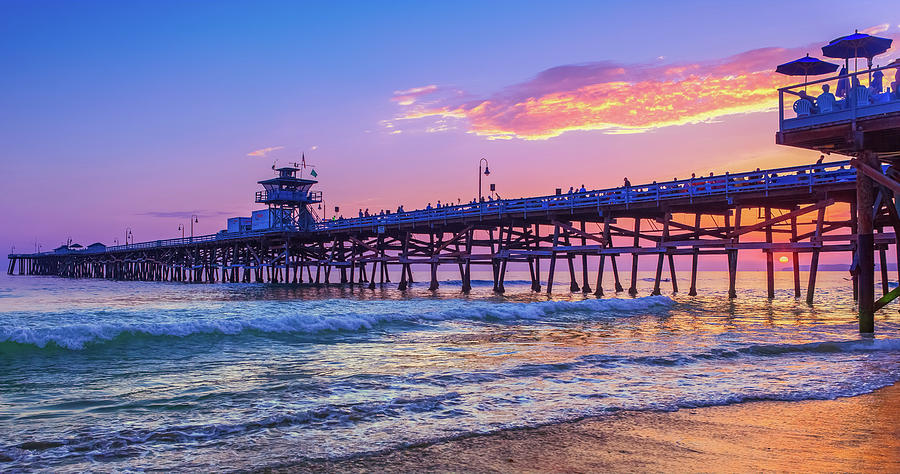 There will be another one - San Clemente Pier Sunset by Scott Campbell