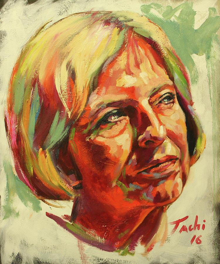 Theresa May by Tachi Pintor
