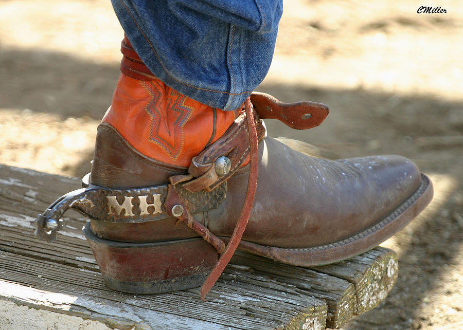 Rodeo Photograph - These Belong To Marv.. by Carol Miller