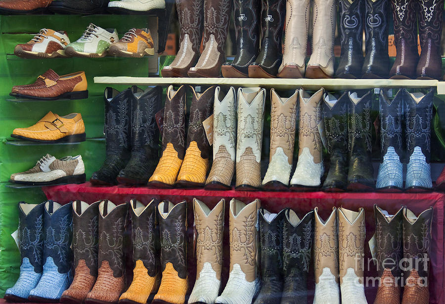 These Boots Are Made For Walkin... Photograph by Mark Hendrickson