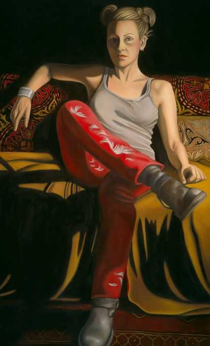 These Boots Are Made For Walking Painting by Tina Blondell