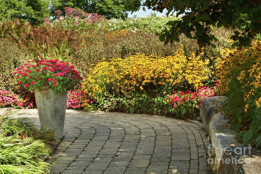Botanic Gardens Photograph - These Paths We Walk by Marilyn Cornwell