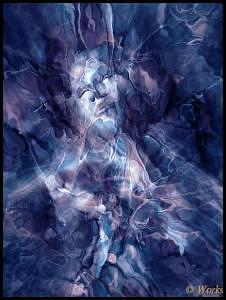 Fractal Digital Art - Theta Transition 1 by David Works