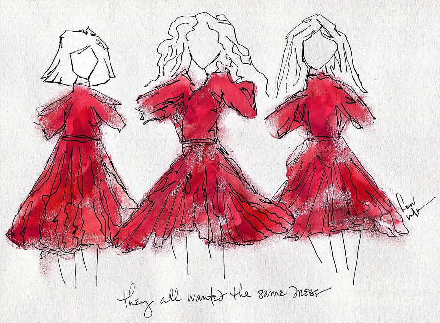 they all wanted the same dress by Hew Wilson