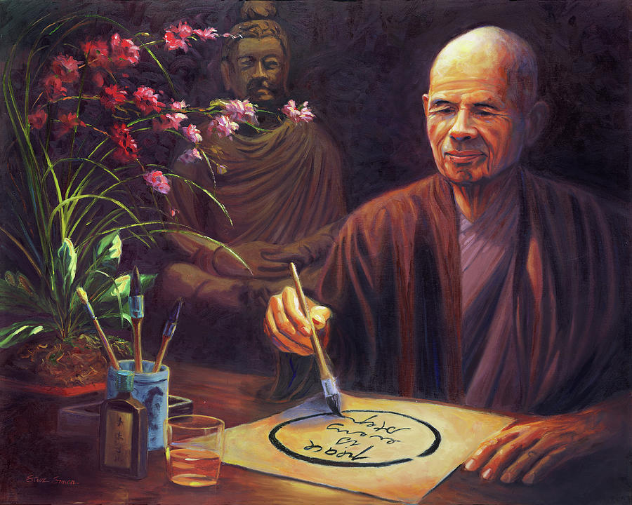 Thich Nhat Hanh Painting