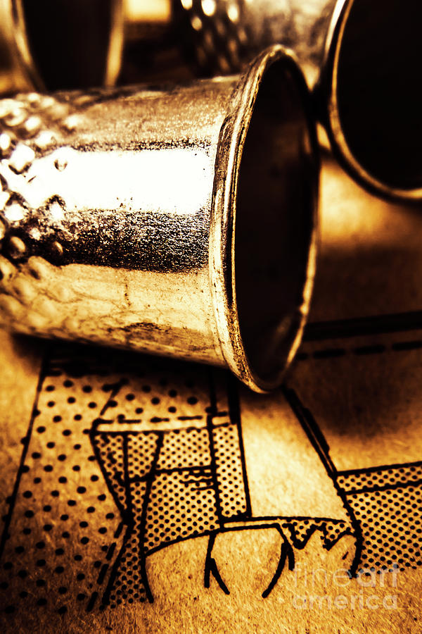 Thimble Photograph - Thimble By Design by Jorgo Photography - Wall Art Gallery