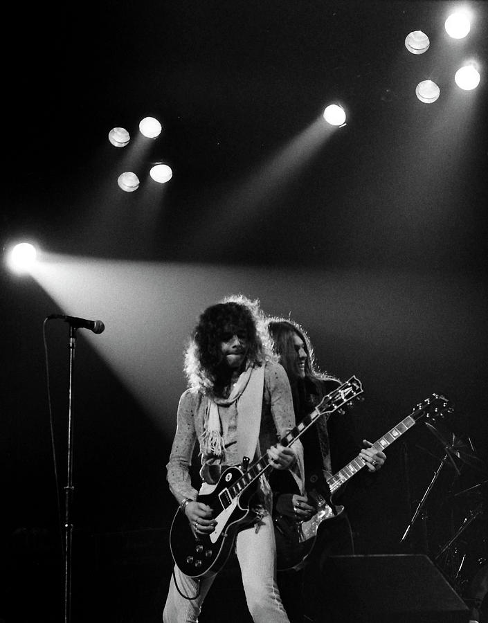 Thin Lizzy Photograph - Thin Lizzy by Sue Arber