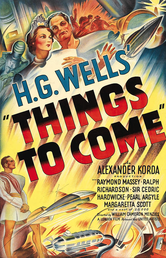 1930s Movies Photograph - Things To Come Aka H.g. Wells Things To by Everett