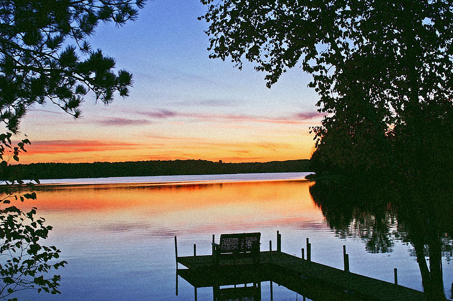 Sunset Photograph - Thinking Of You by Bill Morgenstern