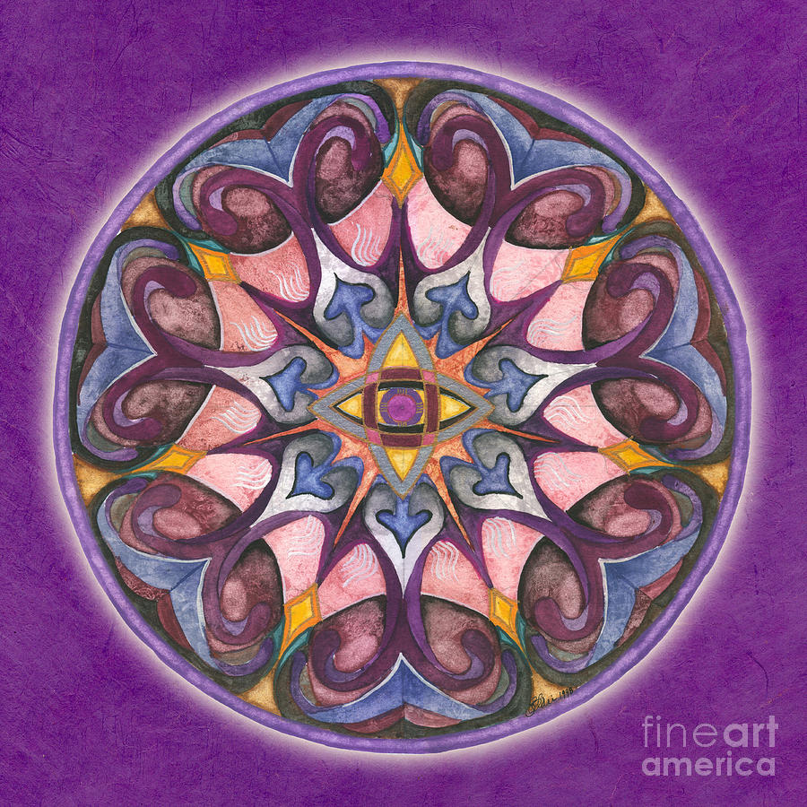 Third Eye Mandala by Jo Thomas Blaine