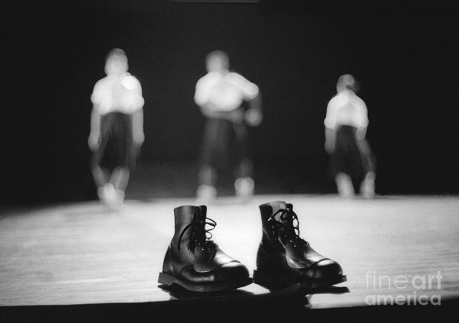 Photo Photograph - This Boots Are Made For Dancing by Philippe Taka