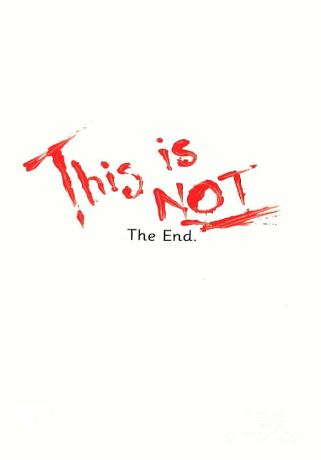 This Is Not The End Painting by Michelle Deyna-Hayward