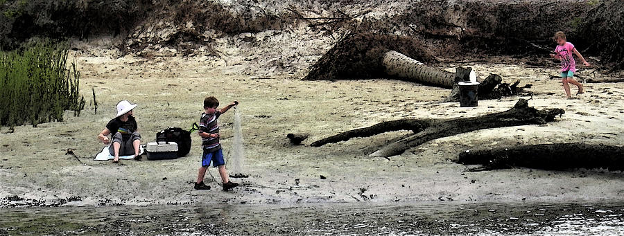 Hunting Island Photograph - This Is Summer  by Patricia Greer