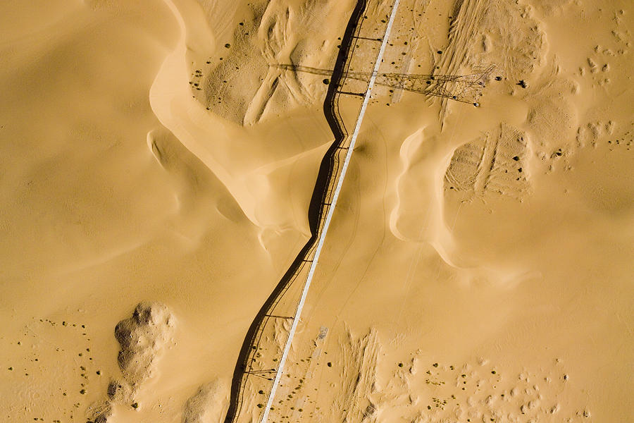 Landscape Photograph - This Is The Longest Phosphate Conveyor by Michael Fay