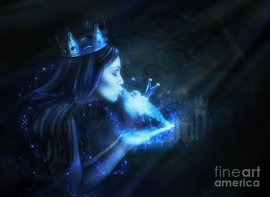 Princess Digital Art - This Magic Moment by Laurie Hasan