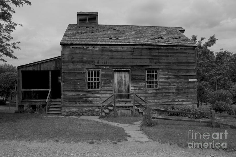 Old Photograph - This Old House by Kathleen Struckle