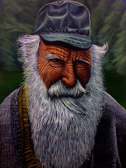 Old Man Painting - This Old Man by Robert  Nugent