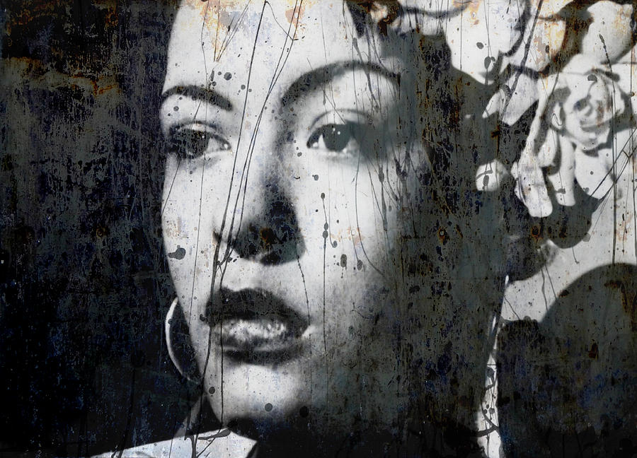 Billie Holiday Mixed Media - This Ole Devil Called Love  by Paul Lovering