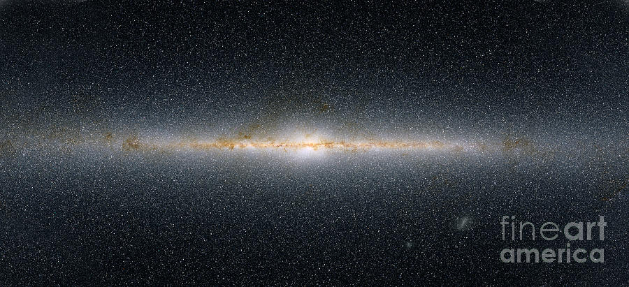 Astronomy Photograph - This Panoramic View Encompasses by Stocktrek Images