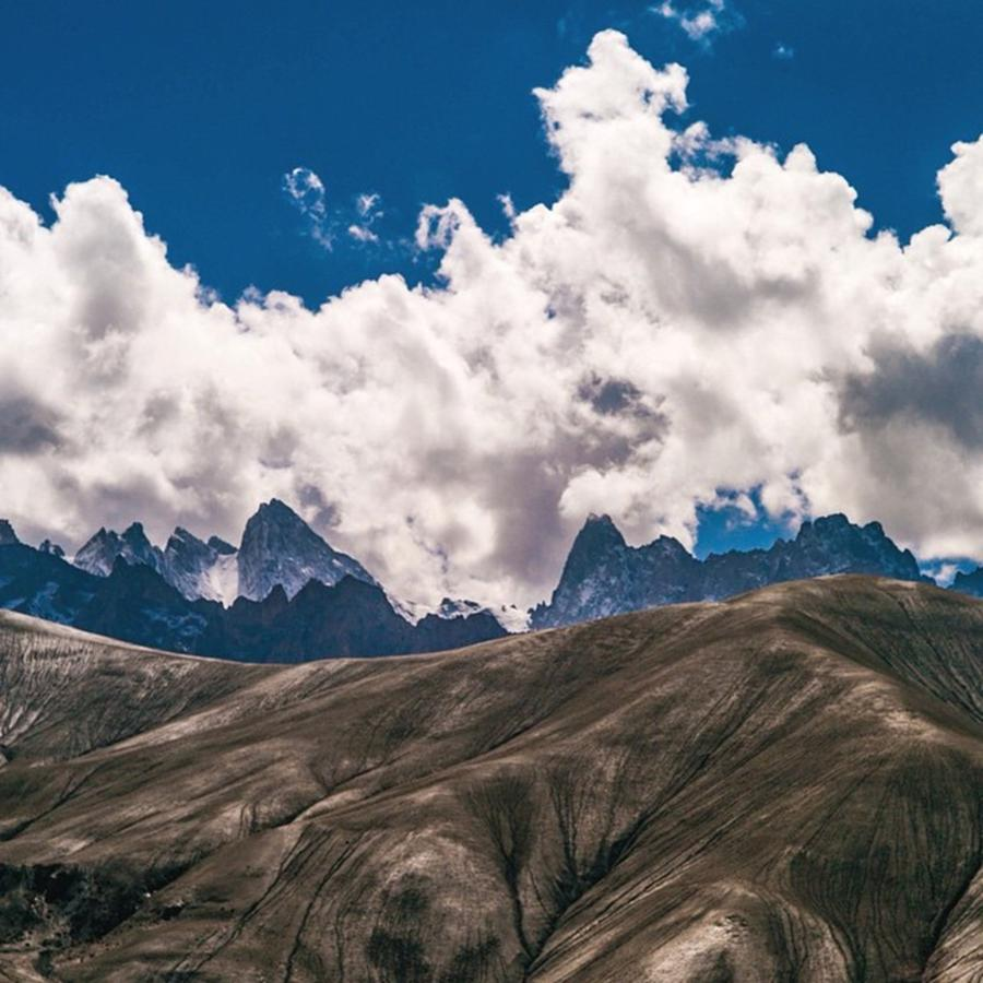 Mountains Photograph - This Place Is Called Moon Land In by Aleck Cartwright