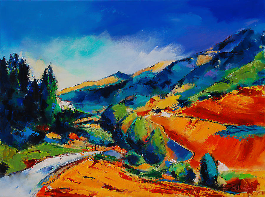 Fauvism Painting - This Way To Heaven by Elise Palmigiani