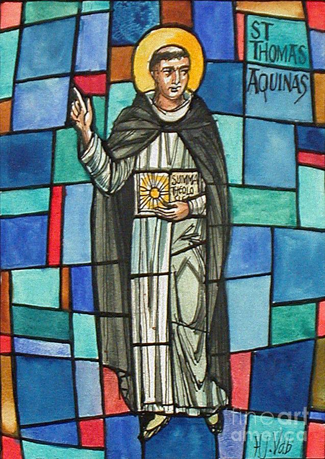 History Photograph - Thomas Aquinas Italian Philosopher by Photo Researchers