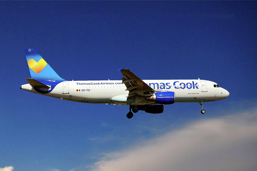 Airbus Photograph - Thomas Cook Airlines Airbus A320-214 by Smart Aviation