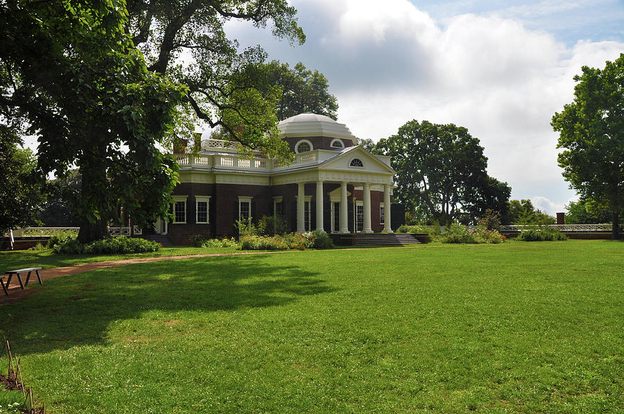 Thomas Jefferson Photograph - Thomas Jeffersons Monticello by Bill Cannon