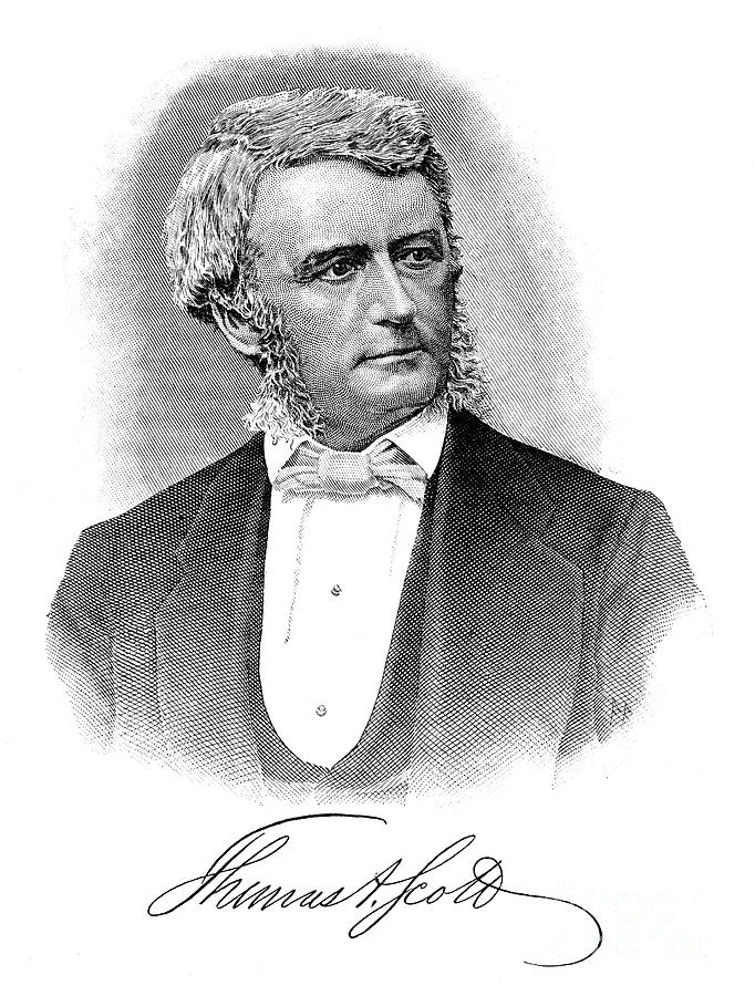 19th Century Photograph - Thomas Scott (1823-1881) by Granger