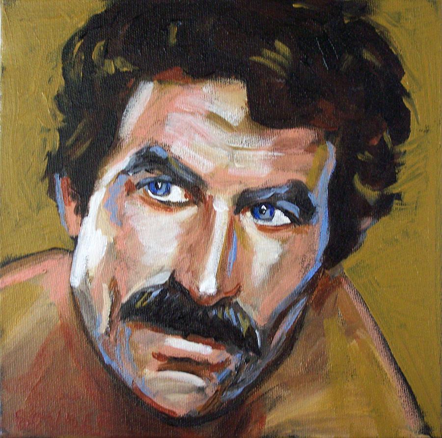 Tom Selleck Painting - Thomas Sullivan Magnum Iv by Buffalo Bonker