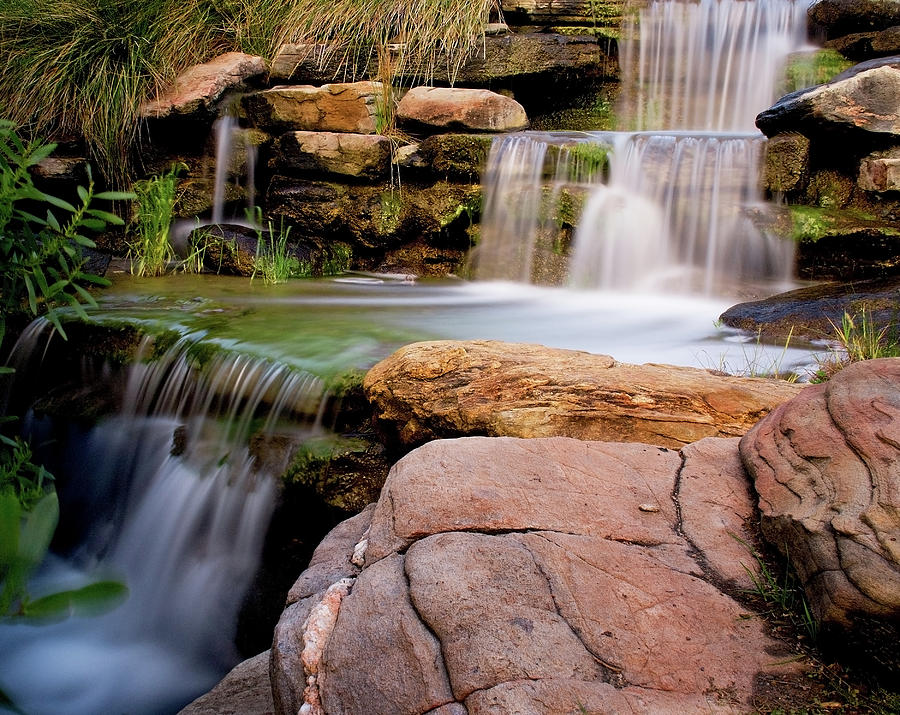 South Australia Photograph - Thorndon Falls by Heather Thorning