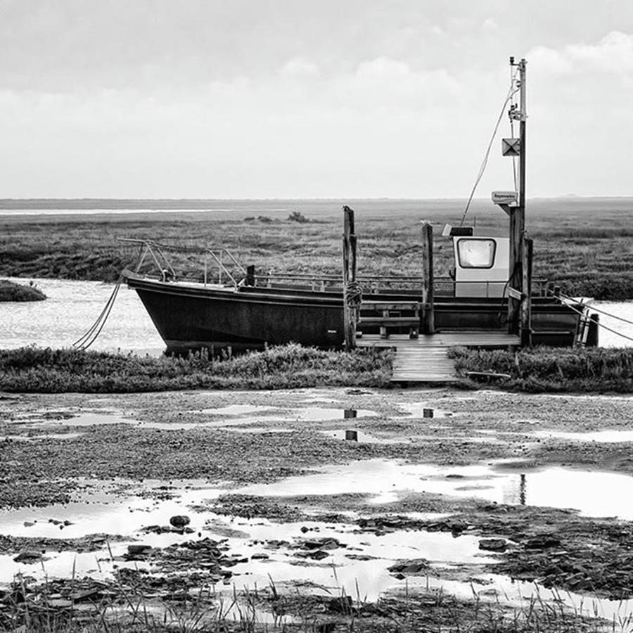 Amazing Photograph - Thornham Harbour, North Norfolk by John Edwards