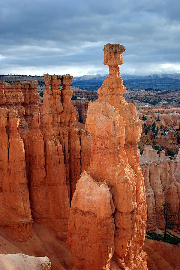 thors hammer at sunrise bryce canyon national park photograph by brian m lumley