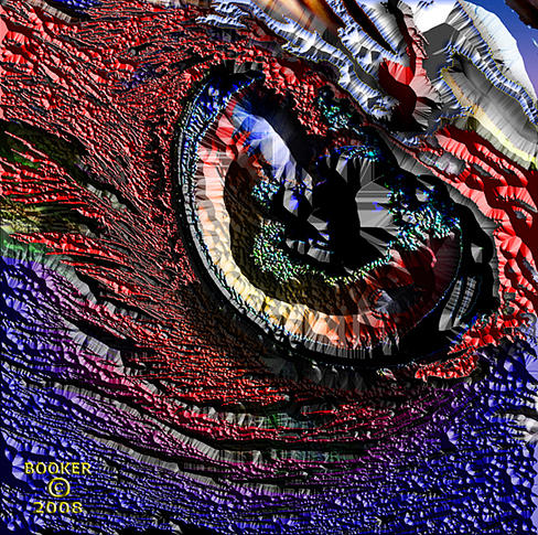 Jazz Mixed Media - Those Contact Lens by Booker Williams