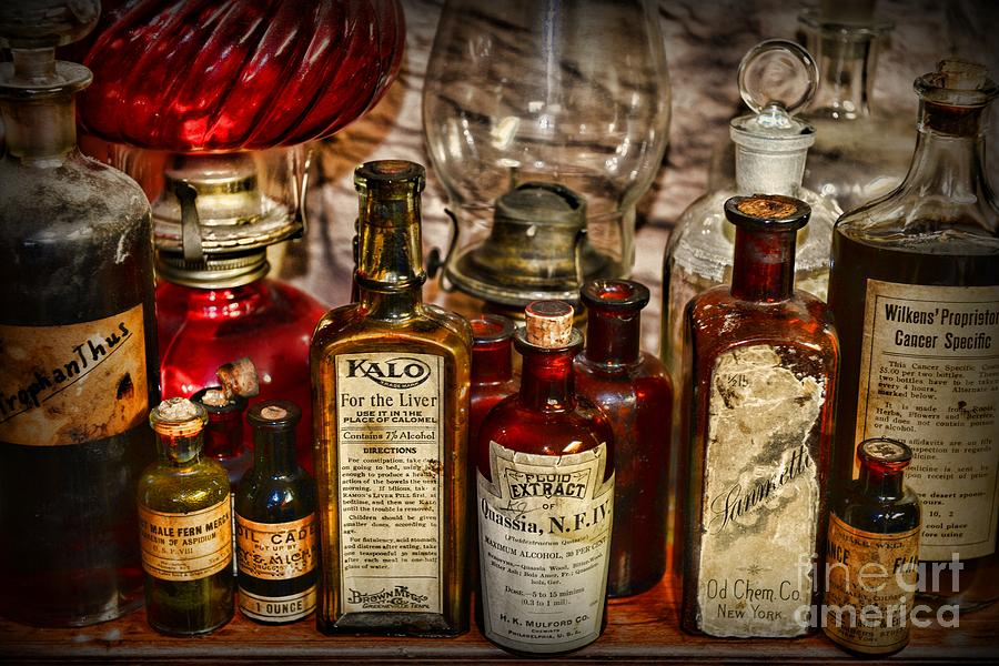 New Those Old Apothecary Bottles Photograph by Paul Ward IX28