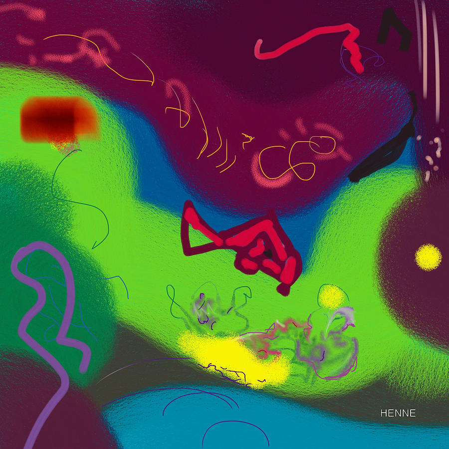 Digital Painting - Thought by Robert Henne