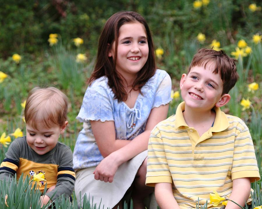 Spring Photograph - Thoughts Of Spring - J Family by Lisa Johnston