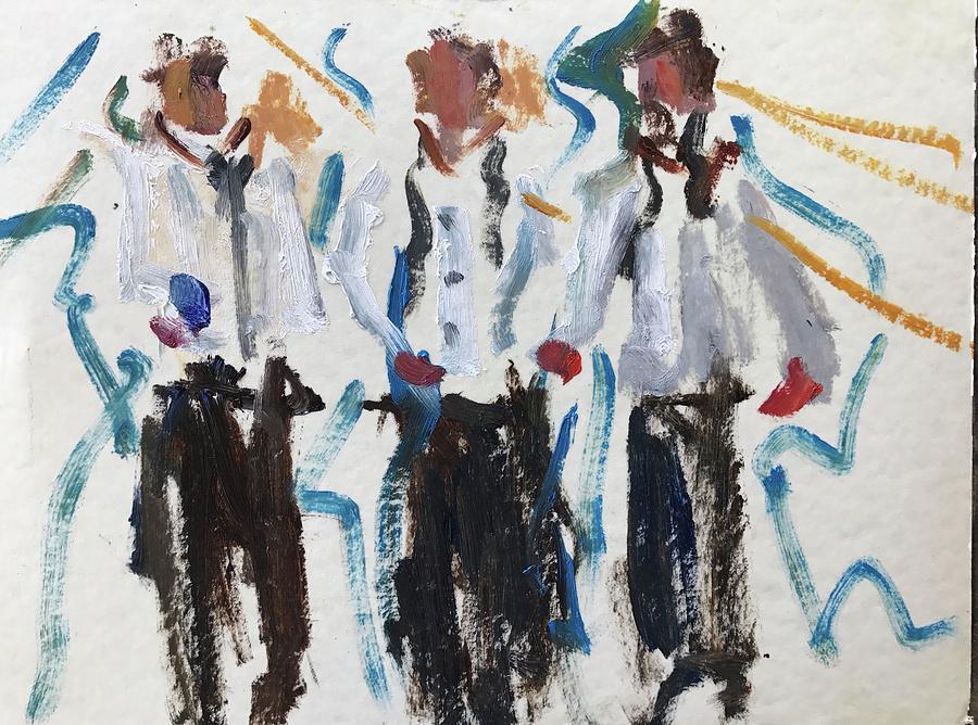 Three Amigos by Carol Berning