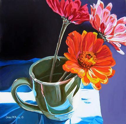 Still Life Painting - Three Amigos SOLD by Jayne Rose