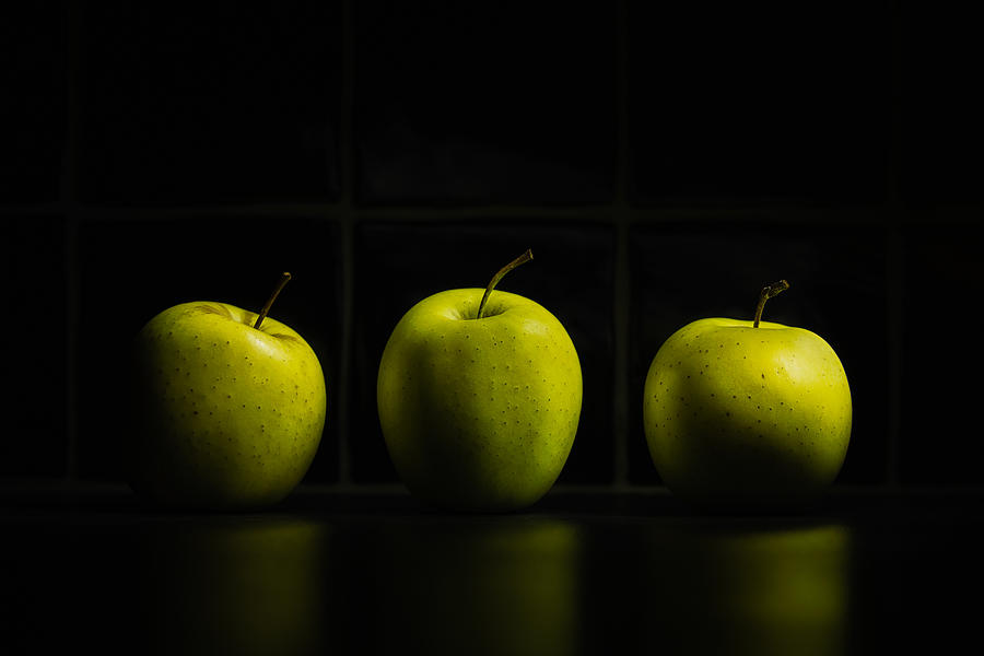 Three Apples Photograph