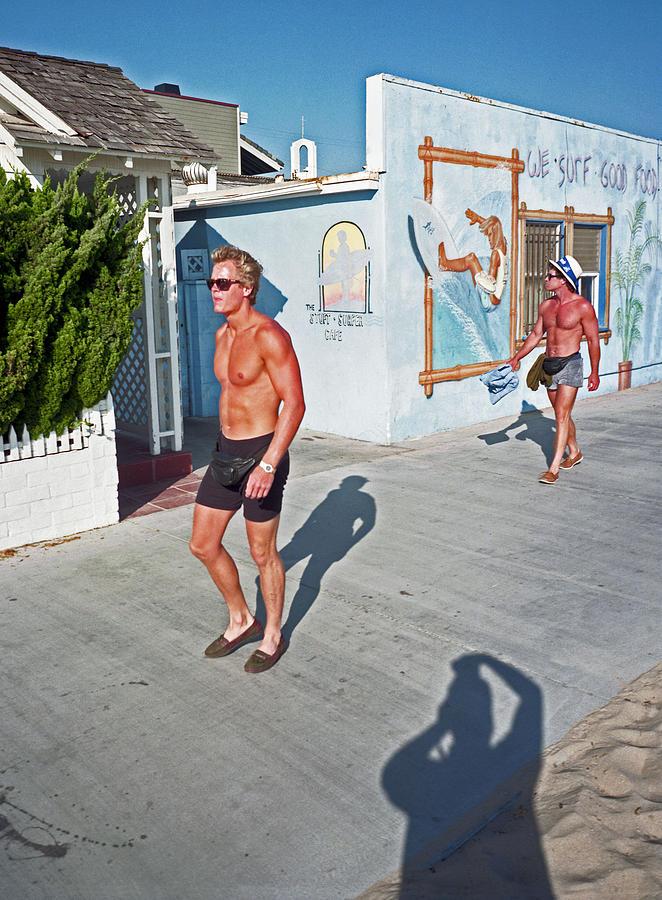 Newport Beach Photograph - Three Beefcakes by James Rasmusson